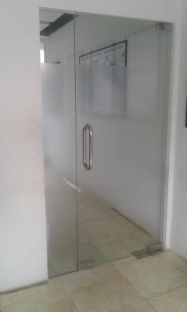 pintu kaca tempred service servis
